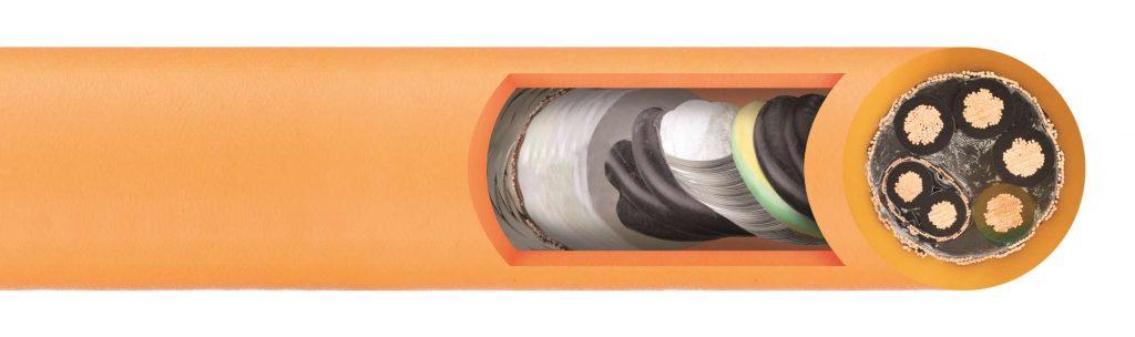 Cable CF27.D de par trenzado apantallado que facilita el procesamiento