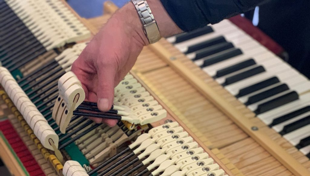 Piano Hammers Polymer