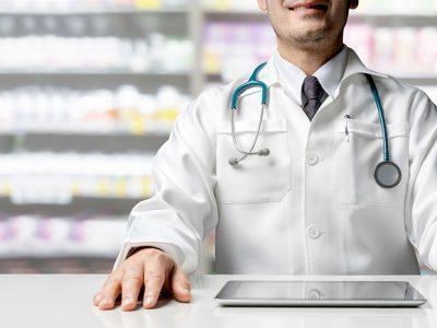Medikamenten-Handling in der Apotheke