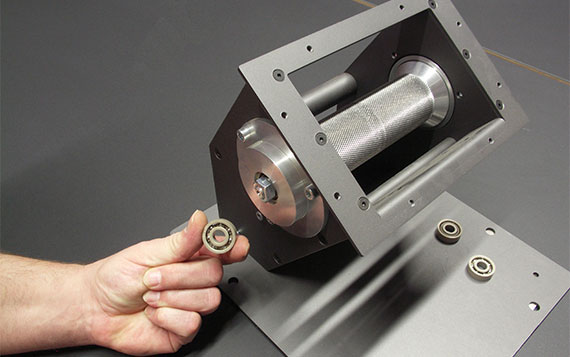 Interesting facts about ball bearings: polymer ball bearings in pellet stoves
