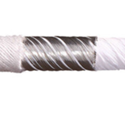 Cable with shield wrap