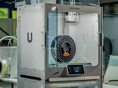 igus filament in a Ultimaker 3D printer